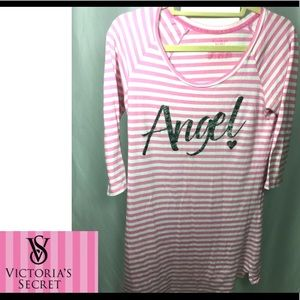 VICTORIA'S SECRET Sleep Night Shirt Dress SZ M